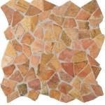 "Bruchmosaik aus Marmor ""Palladiana Rosso"""