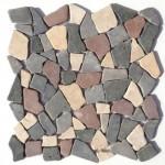 """Bruchmosaik aus Marmor """"Palladiana Herbstmischung"""""""