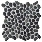 """Steinmosaik Unterseite geschnitten """"anthrazit"""""""