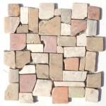 """Wandverkleidung aus Naturstein """"Marmor Frammenti Autumno"""""""