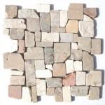 """Wandverkleidung aus Naturstein """"Marmor Frammenti Naturale"""""""