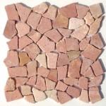 Flusskiesel, Flussstein Mosaik, Kieselmosaik