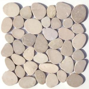 Kieselsteine als Bodenbelag KM005BXL unverfugt