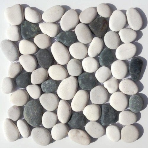 flusskiesel cremeweis grau anthrazit der fliesenonkel. Black Bedroom Furniture Sets. Home Design Ideas