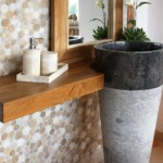 Standwaschbecken Marmorsäule