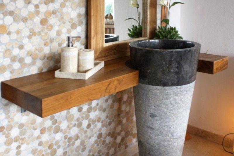 standwaschbecken helgoland black der fliesenonkel. Black Bedroom Furniture Sets. Home Design Ideas