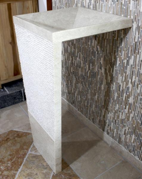Standwaschbecken aus Marmor