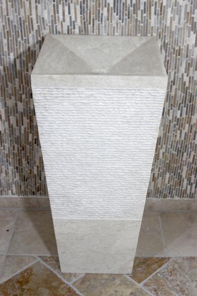 standwaschbecken aus marmor der fliesenonkel. Black Bedroom Furniture Sets. Home Design Ideas