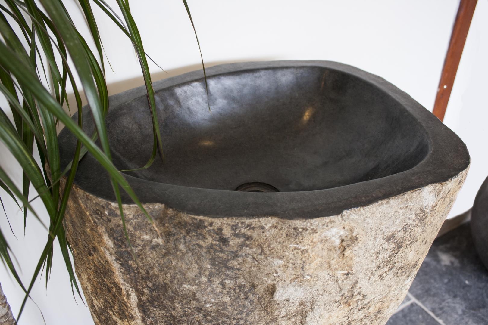 Standwaschbecken Stein Megalith