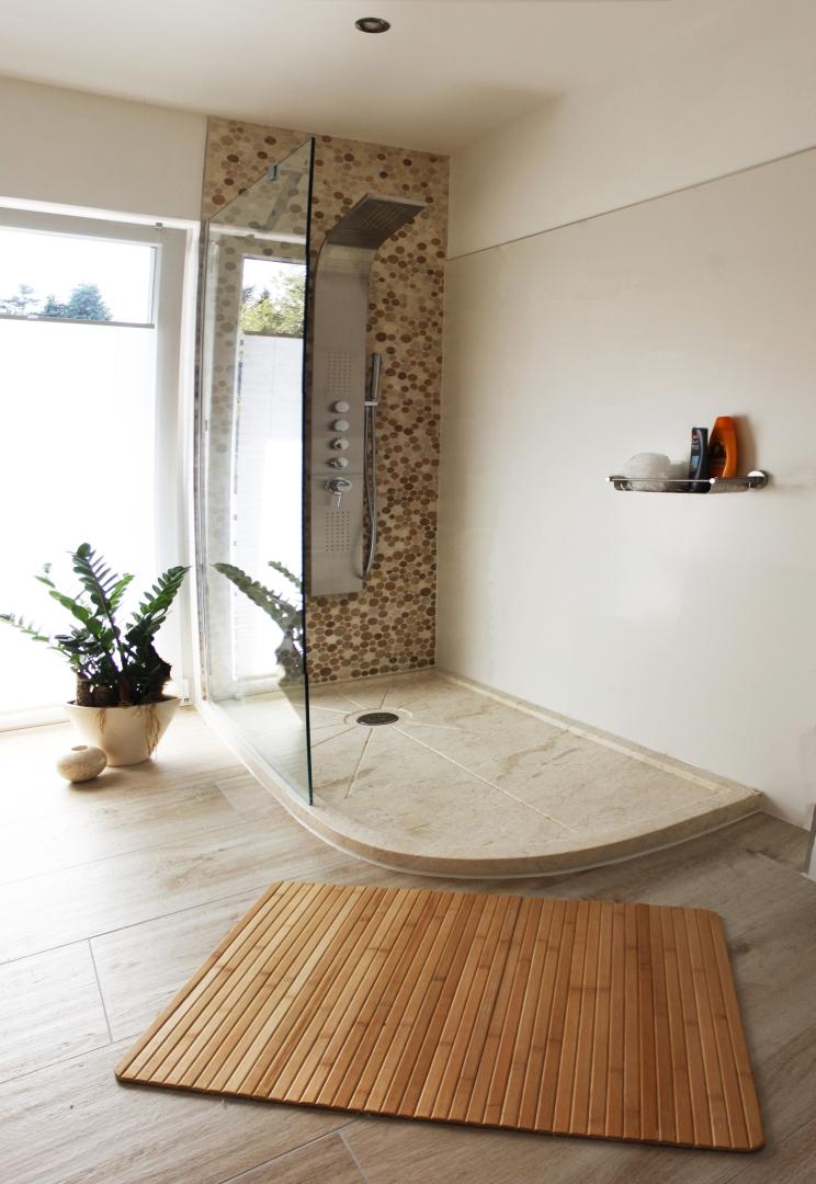 traumbad mit naturstein der fliesenonkel. Black Bedroom Furniture Sets. Home Design Ideas