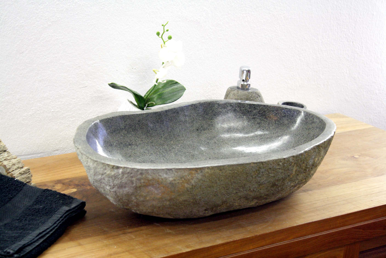 flussstein waschbecken der fliesenonkel. Black Bedroom Furniture Sets. Home Design Ideas