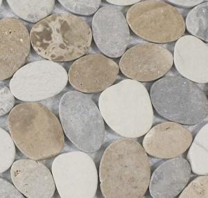 Mosaik Kieseloptik Terra-Mix