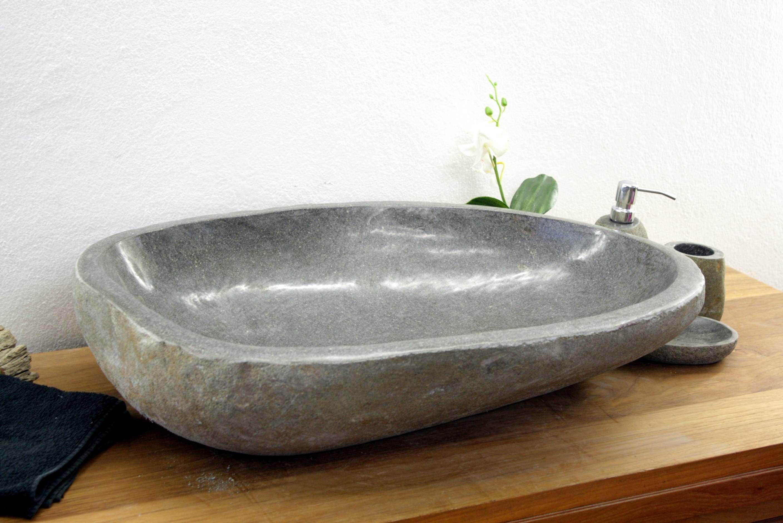 aufsatzwaschtisch aus stein der fliesenonkel. Black Bedroom Furniture Sets. Home Design Ideas