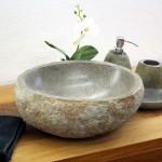Aufsatzwaschbecken Naturstein