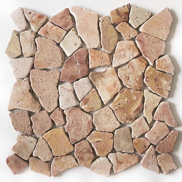Bruchstein Mosaik Bruchmosaik Marmor FLIESENONKEL