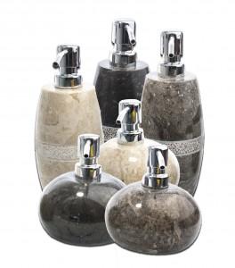 Seifenspender Naturstein Marmor
