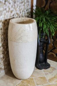 Standwaschbecken aus Naturstein Marmor