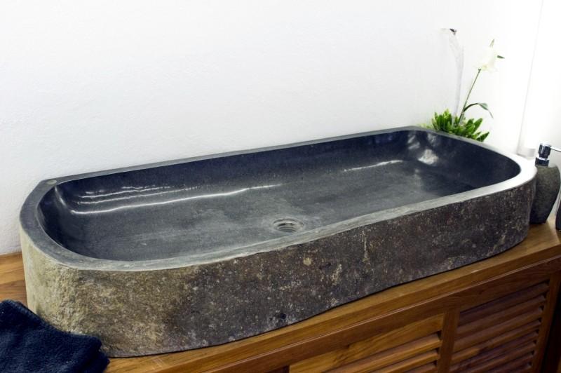 steinwaschbecken mit berbreite der fliesenonkel. Black Bedroom Furniture Sets. Home Design Ideas