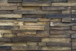 Wandverkleidung aus Holz Slimline