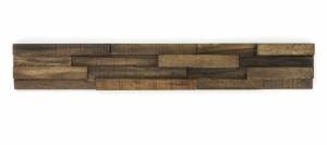 Wandverkleidung aus Holz (Holzstreifen)