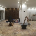 Wandverkleidung Installation